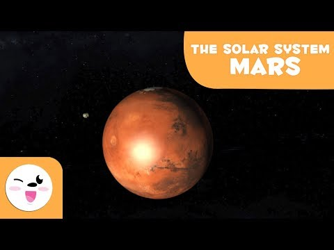 Mars, the Red Planet – Solar System 3D Animation for Kids